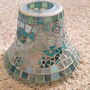 Other - Yankee Candle Glass Candle Topper